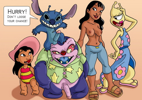 Lilo and Stitch - new porn comics - Drawn Extreme XXX Drawn Gang Bang
