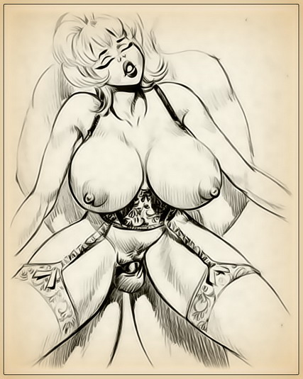 Little Annie Fanny - dirty fantasy! Adult Toons Drawn Big Tits Drawn Fetish Sex