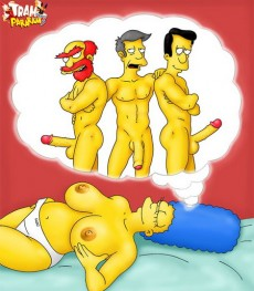 Dream of Marge in comics xxx