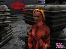 3D Porn Comics / alien blowjob - 3D Porn Comics Drawn Blowjob