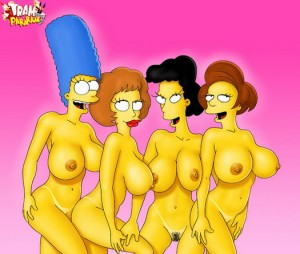 Flintstones and Simpsons XXX - Big Tits Toons Tram Pararam Sex